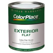 ColorPlace Exterior Flat White Paint, 0.9l