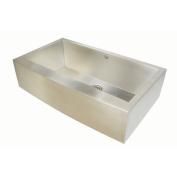 Artisan Sinks Chef Pro 90cm x 50cm Single Bowl Farmhouse Kitchen Sink with Arched Apron Front