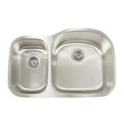 Artisan Sinks Premium Series 80cm x 50cm Double Bowl Undermount Kitchen Sink