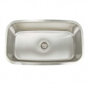 Artisan Sinks Premium Series 9.6m x 0m x 9.6m x 0m Large Rectangular Kitchen Sink
