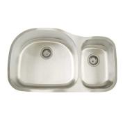 Artisan Sinks Premium Series 90cm x 50cm Double Bowl Undermount Kitchen Sink