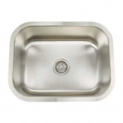 Artisan Sinks Premium Series 60cm x 46cm Rectanglular Single Bowl Undermount Kitchen Sink