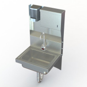Aero Manufacturing NSF 43cm x 38cm Single Industrial Hand Sink with Faucet