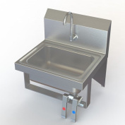 Aero Manufacturing NSF 43cm x 38cm Single Knee Operated Hand Sink with Faucet