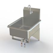 Aero Manufacturing NSF 5.8m x 0m x 5.8m x 0m Wall Mount Knee Operated Bathroom Sink