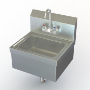 Aero Manufacturing NSF 43cm x 38cm Single Extra Heavy Duty Hand Sink with Faucet