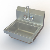 Aero Manufacturing NSF 43cm x 38cm Single Hand Sink with Faucet