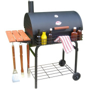Char-Griller Deluxe 70cm Charcoal Griller