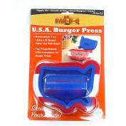 Mr. Bar-B-Q USA Shaped Burger Press
