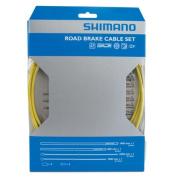 Shimano PTFE Brake Cable Set Yellow