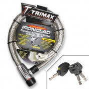 Trimax TG3048SX Ironclad Flexible Armour Plated Cable Lock 120cm