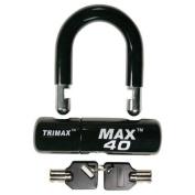 Trimax MAX40BK Multi-Purpose Disc/Cable Lock/U-Lock Black