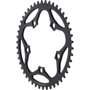 Dimension 50t x 110mm Outer Chainring Black