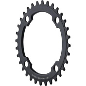Dimension 36t x 104mm Middle Chainring Black