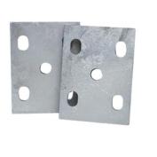 Tie Down Engineering Galvanised Universal Tie Plates, Sold as Pair