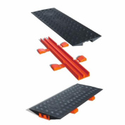 Cross-Link CL2X150-5GD-B Polyurethane Heavy Duty Protector Bridge for Guard Dog 5 Channel Cable Protectors
