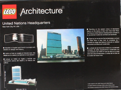 LEGO Architecture United Nations Headquarters Building Set