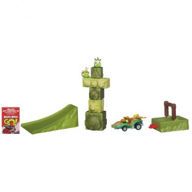 Angry Birds Go! Telepods Jenga Tower Knockdown Game