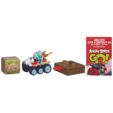 Angry Birds Go! Telepods Jenga The Blues' Off Roadster Game