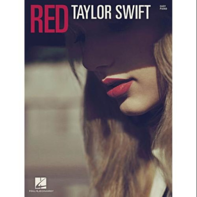 Hal Leonard Taylor Swift - Red for Easy Piano