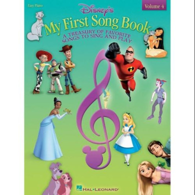 Hal Leonard Disney's My First Songbook - Volume 4 for Easy Piano
