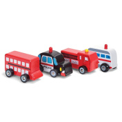Wooden Wheels Toy Cars