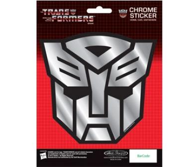 Transformers - Autobots logo Sticker Chrome Sticker