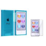 INSTEN Colour Plastic Hard Cover Case Skin For iPod Nano 7G 7th Generation 7+Protector