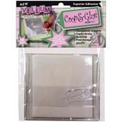 Crop & Glue Vellum Adhesive Sheets 10/Pkg-10cm x 10cm