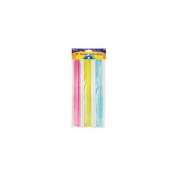 """Bazic 12"""" (30cm) Ruler with Handle Grip - 3/Pack"""