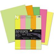 """Astrobrights Colour Paper - """"Neon"""" Assortment, 11kg, 8 1/2 x 11, 5 Colours, 500 Sheets"""