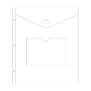 American Crafts 380156 Project Life Envelope Page 8. 13cm x 28cm 3-Pkg-