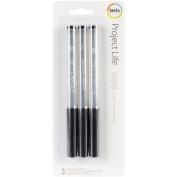 American Crafts Project Life Journaling Pen Set, 3pk