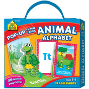School Zone Pop-Up Flash Cards, Alphabet