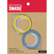 K & CompanySmash Label Maker Refill for Scrapbook, Blue and Yellow
