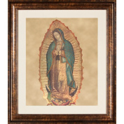 Pro Tour Memorabilia Lady Guadalupe with Baby Framed Artwork
