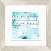 Bird Gathering Wall Decor, Framed Art