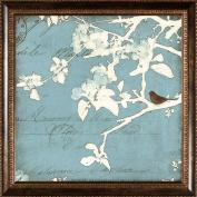 Pro Tour Memorabilia Trees and Birds Framed Artwork