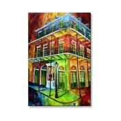 AC Nawlins Rainbow Metal Wall Art - 16W x 23.5H in.