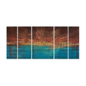 Electrical Charge Metal Wall Art - 56W x 23.5H in.