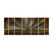 On The Horizon Metal Wall Art - 66W x 23.5H in.
