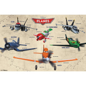Trends International Disney Planes Group Poster, 60cm x 90cm