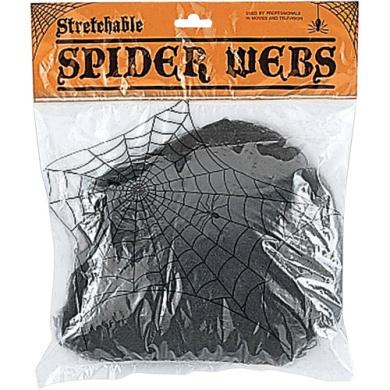Black Spider Web Adult Halloween Accessory