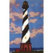 M C G Textiles Latch Hook Kit 50cm x 70cm Coastal Haven