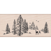 Hero Arts Mounted Rubber Stamps, Winter Scene
