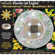 Milestones Illuminations Solar Step Stone Kit, Circle Of Light