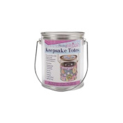 Darice 121263 Keepsake Totes Clear Paint Can 1.2mX5