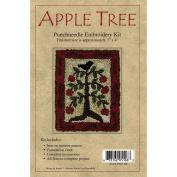 Rachel's Of Greenfield Apple Tree Punch Needle Kit, 7.6cm x 10cm