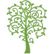 Spellbinders Shapeabilities Die D-Lites, Whimsical Tree