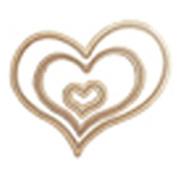 Spellbinders MD1-005 Hearts One Die Templates